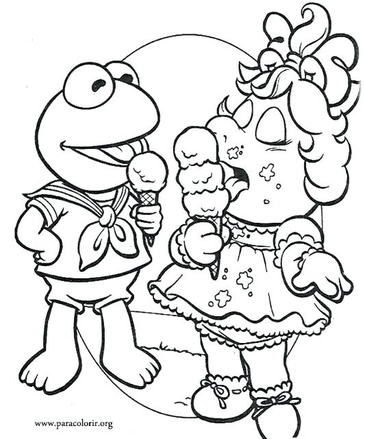 533x640 Muppet Coloring Pages