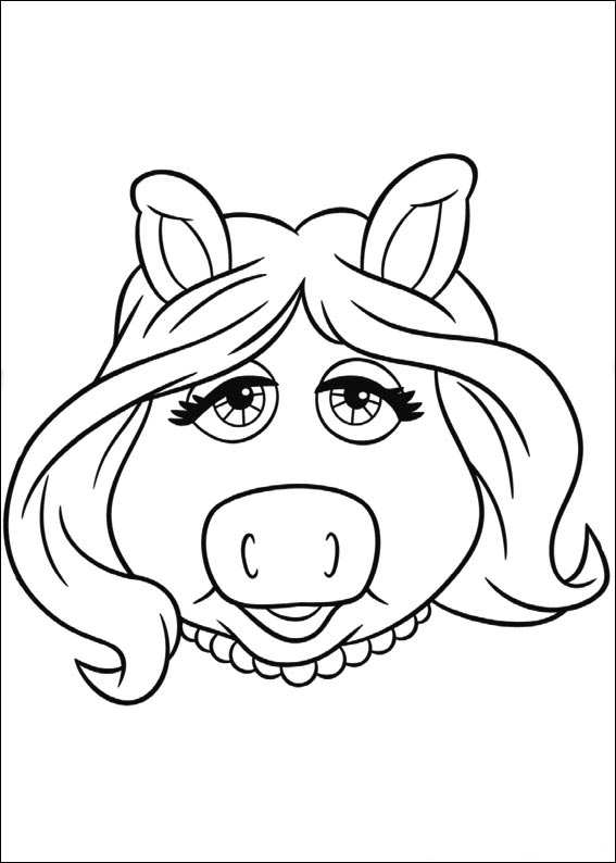 567x794 Kids N Coloring Pages Of Muppets