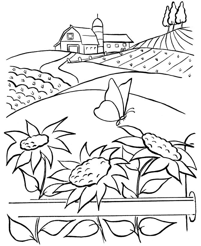 Mural Coloring Pages