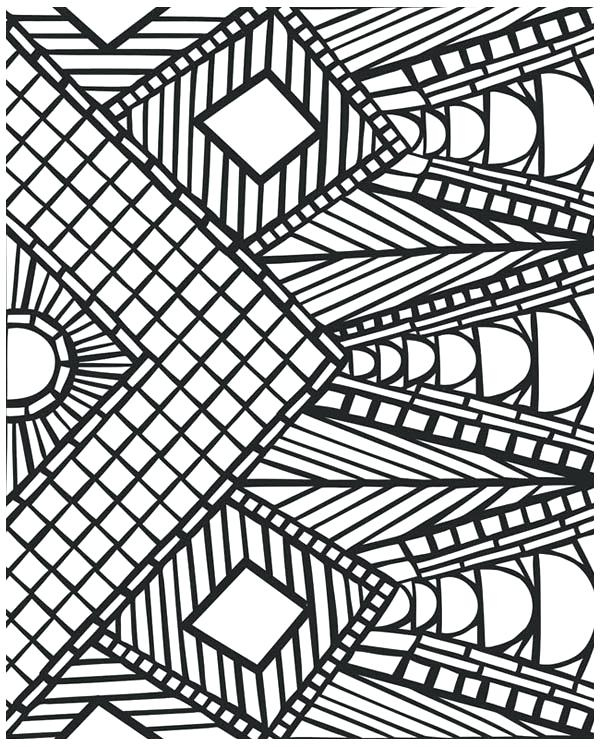 600x747 Cool Design Coloring Pages Egg Mural Pattern Coloring Pages