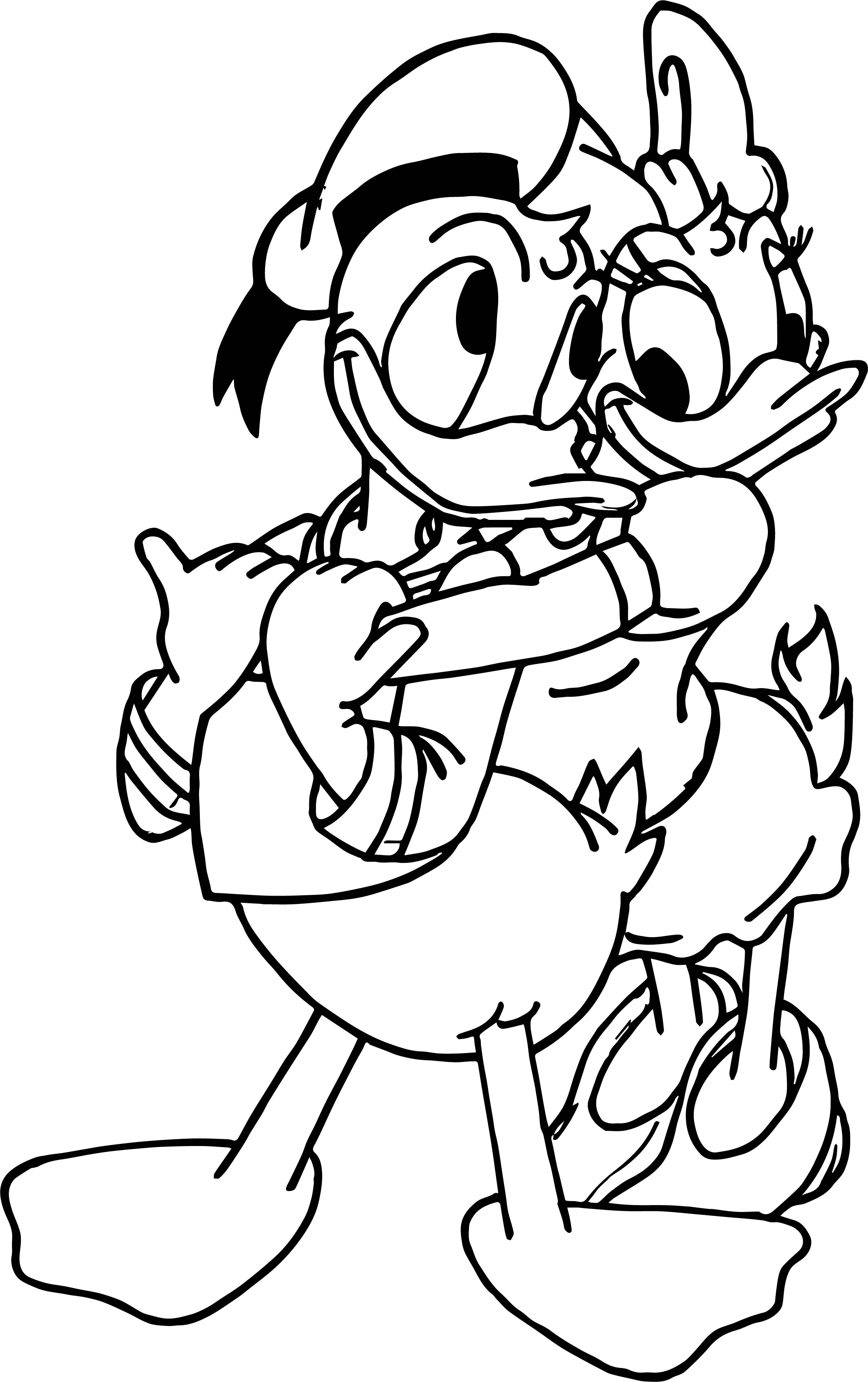 2410x3836 Unique Donald Duck Coloring Pages Collection Printable Coloring