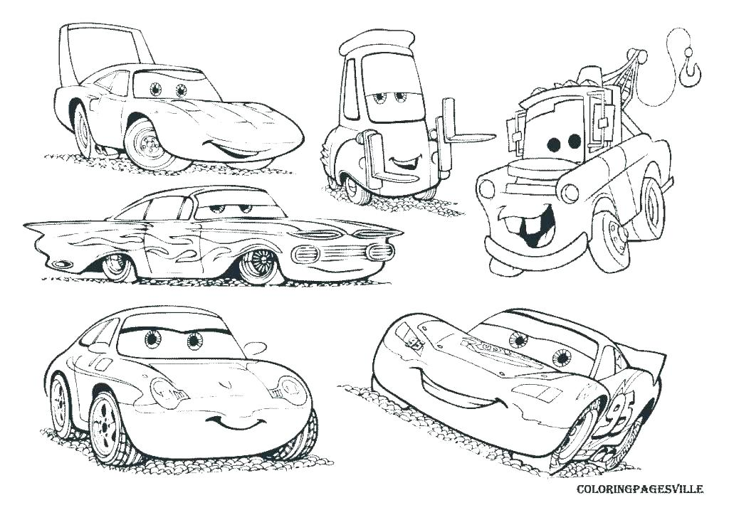 1024x724 Cars Coloring Pages Free Printable Cars Printable Coloring Pages