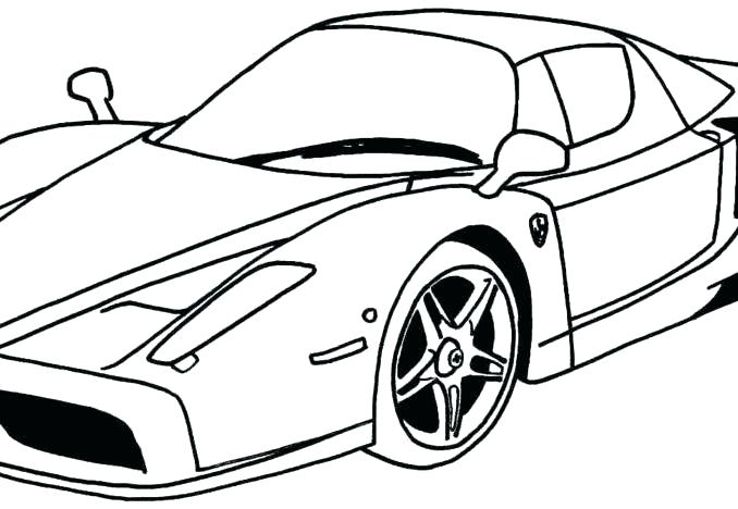 678x468 Free Printable Muscle Car Coloring Pages Cool For Boys Cars Color