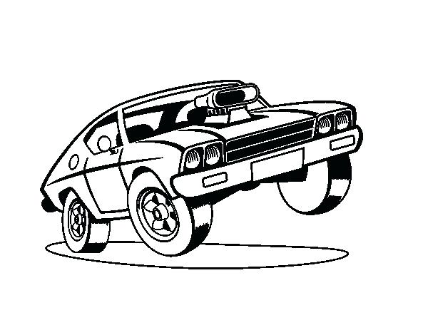 600x470 Muscle Car Coloring Sheets S Muscle Car Coloring Book Pages