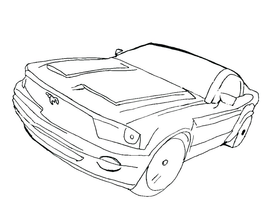 863x667 Muscle Car Printable Coloring Pages Printable Coloring Free