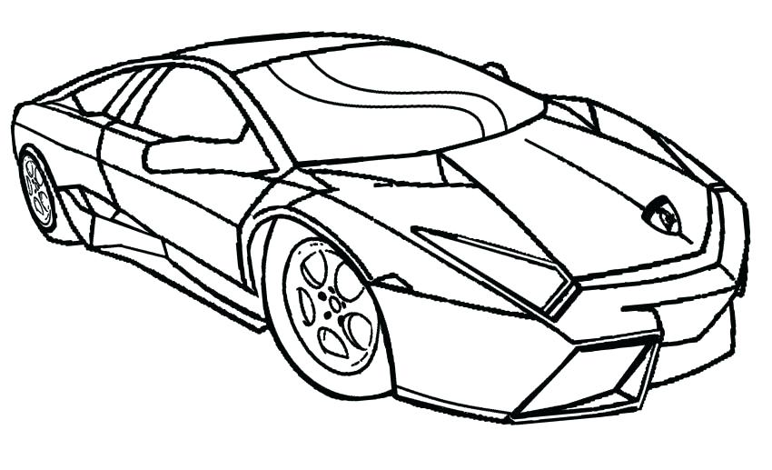 850x517 Car Printable Coloring Pages With Printable Coloring Pages Cars