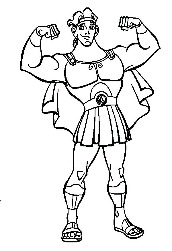 The Best Free Muscular Coloring Page Images Download From 57 Free