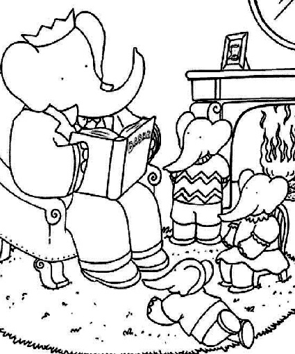 Museum Coloring Pages