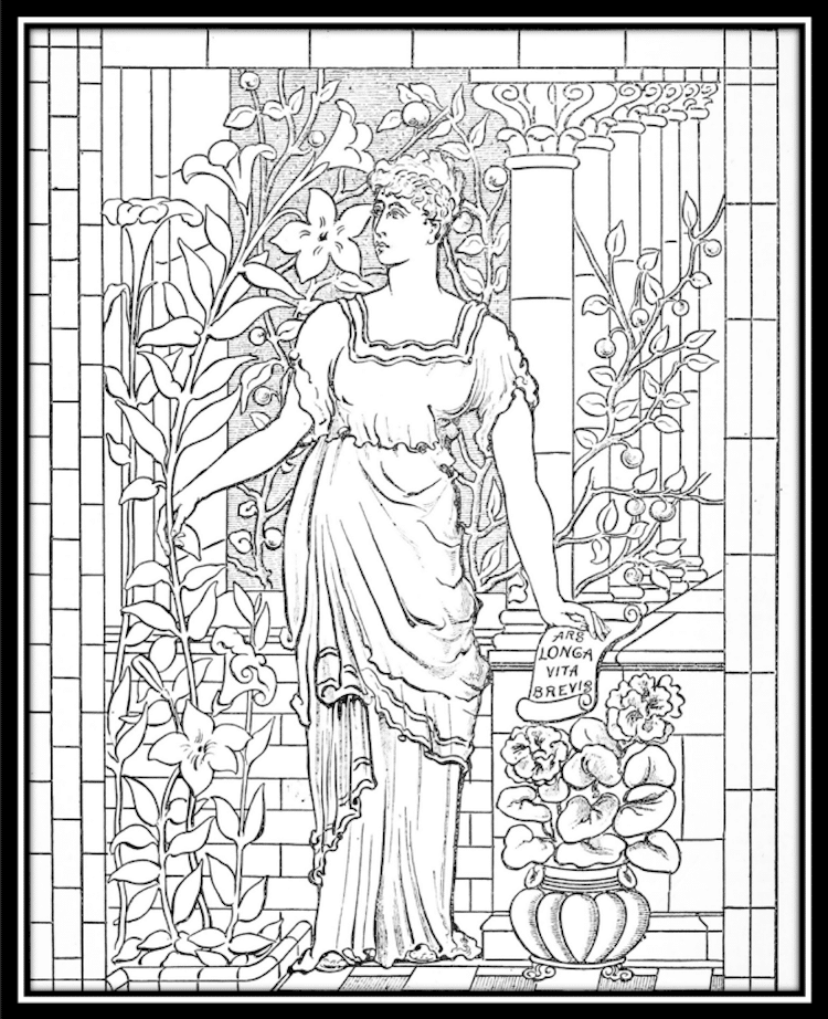 750x922 Free Coloring Pages From Museums