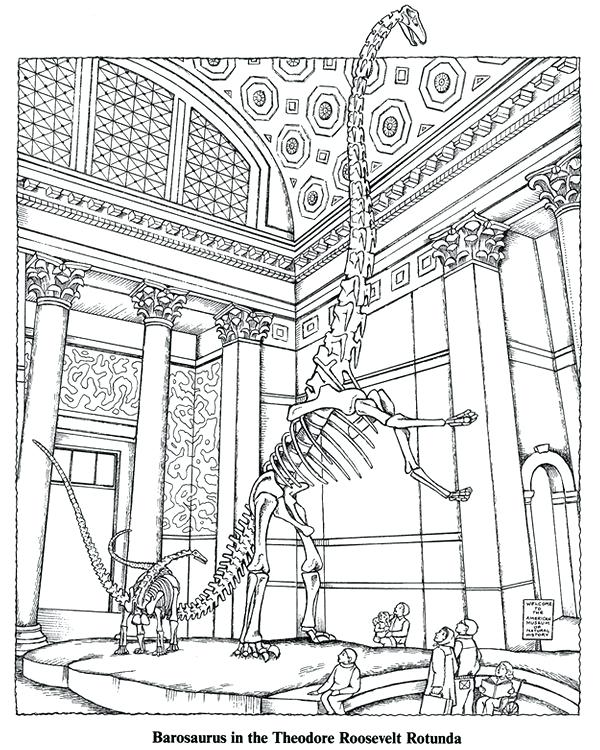 600x750 Good Nightt The Museum Coloring Pages For Coloring Page
