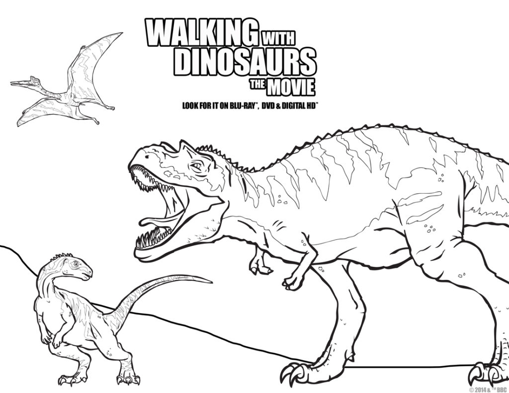 1024x791 Night At The Museum Coloring Pages Of Natural History Dinosaurs