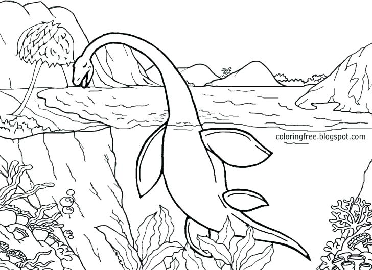 728x529 Dino Coloring Pages Museum Dinosaurs Coloring Page Night