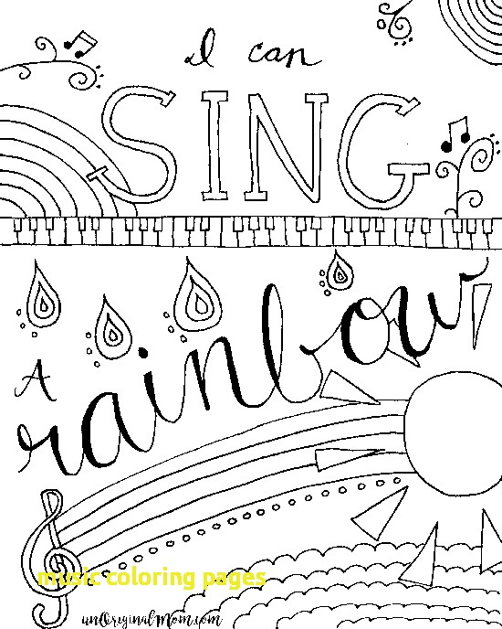 550x688 Music Coloring Page Music Coloring Pages With Relax Color Free