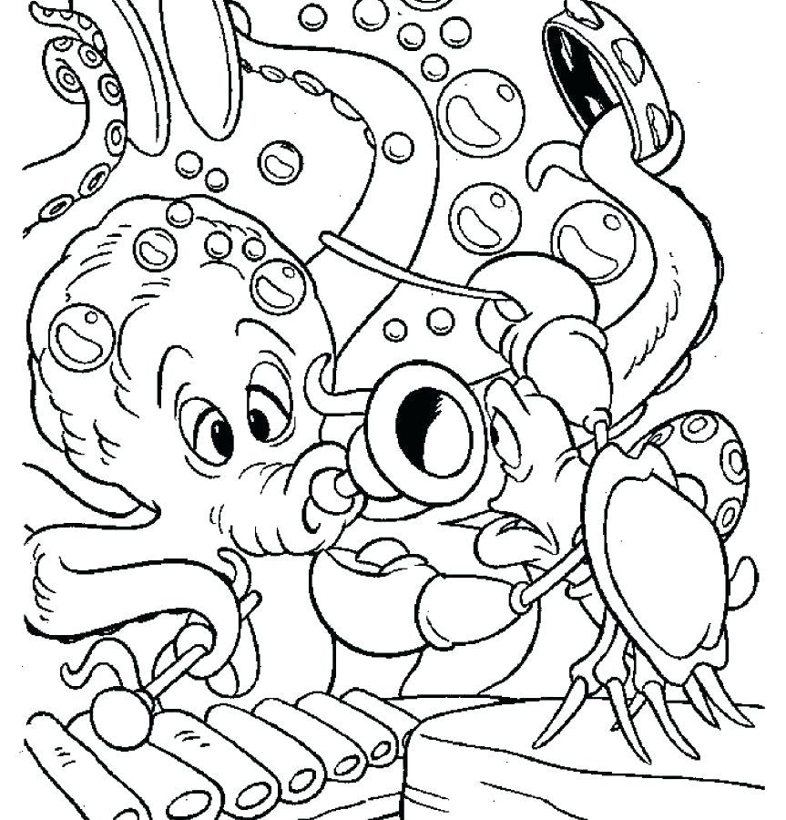 863x900 Music Coloring Pages Kids Under Musical Instruments Coloring