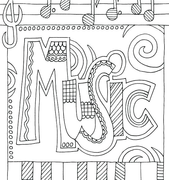 564x600 Music Coloring Pages Music Colouring Pages Music Coloring Pages