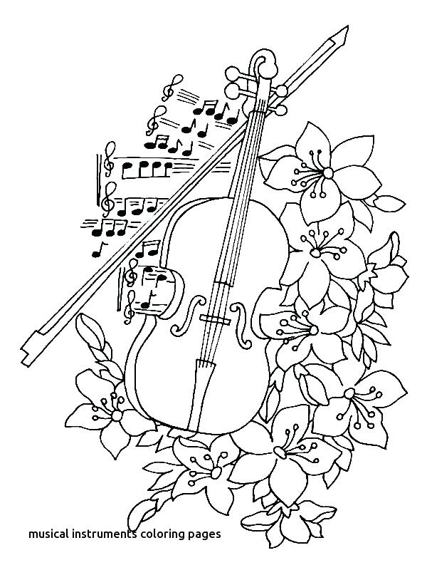 600x800 Musical Notes Coloring Pages