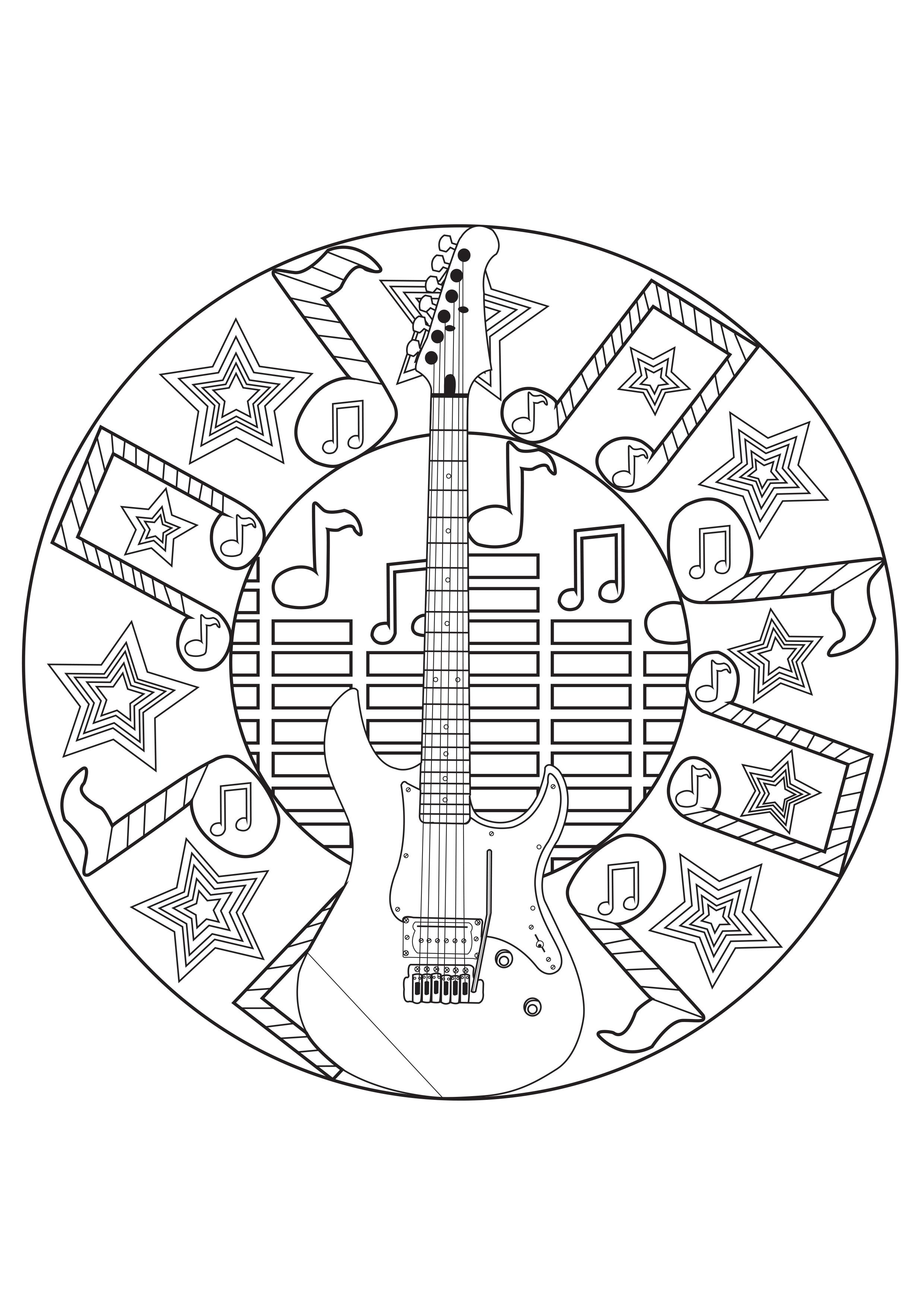 2480x3508 Mandala Mandala Music