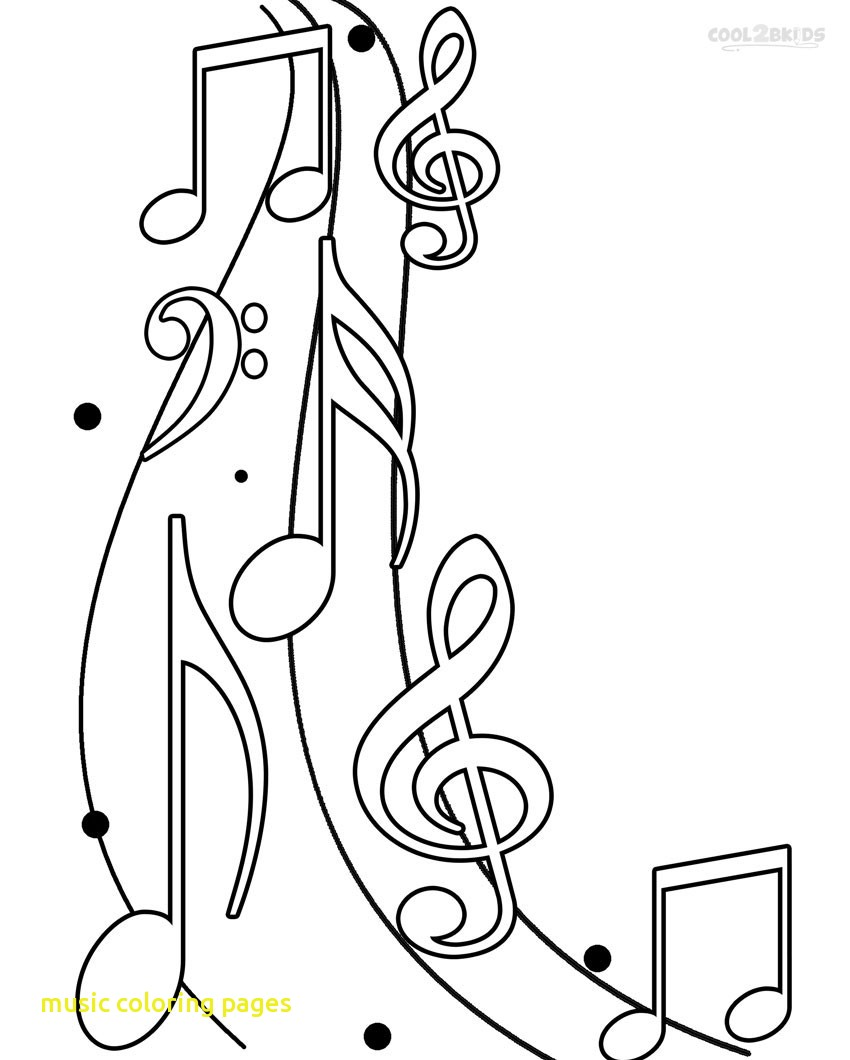 850x1060 Music Coloring Pages With Notes Adult At Page