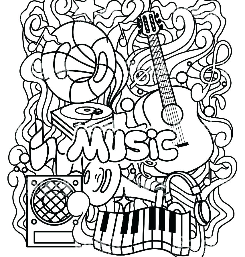 856x900 Music Notes Coloring Page Music Note Coloring Pages Easy For Kids