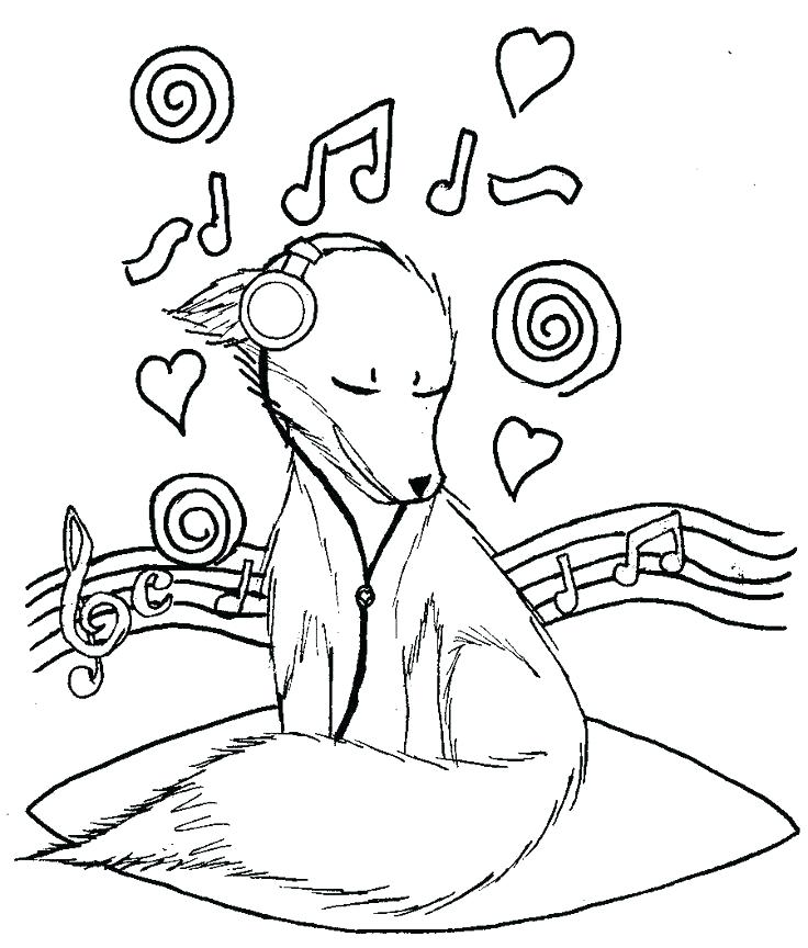 736x864 Music Notes Coloring Pages Music Note Coloring Page Music Notes