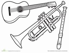 236x181 Free Music Coloring Pages Sheets For Kids