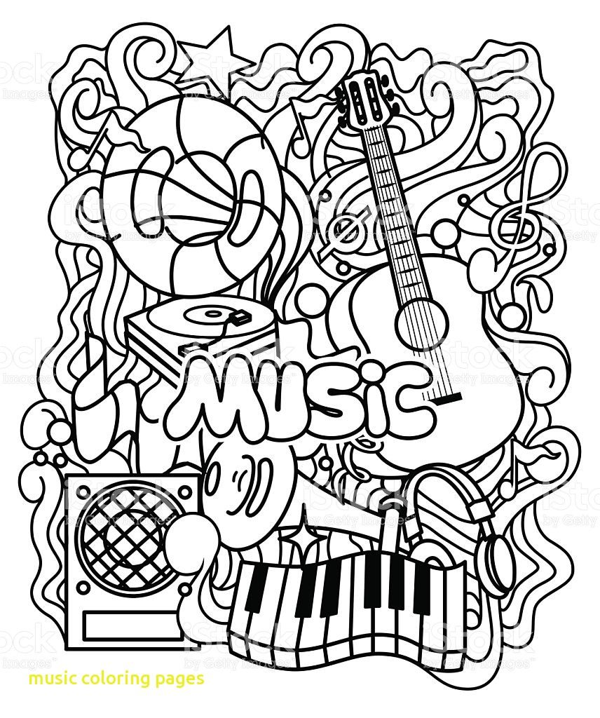 856x1024 Music Coloring Pages For Kindergarten