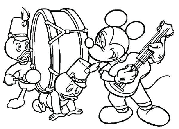 600x434 Music Coloring Pages For Kindergarten Music Coloring Pages