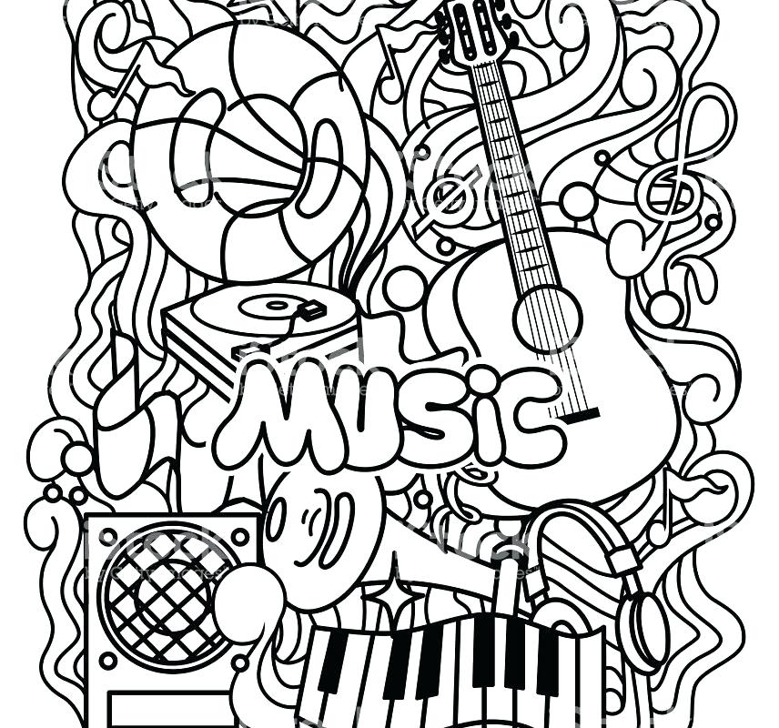 856x800 Free Music Coloring Pages Coloring Pages Music Music Color Pages