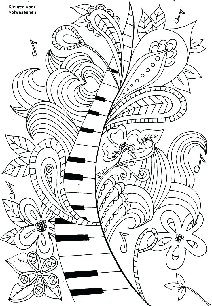 736x1062 Music Coloring Lovely Music Coloring Pages Best Of For Adults