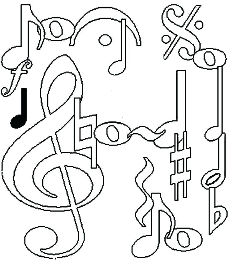 728x829 Music Coloring Page Medium Size Of Music Coloring Page