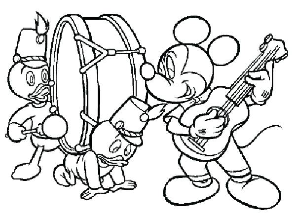 600x434 Music Coloring Page Musical Coloring Pages Coloring Pages Music