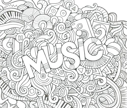 Music Coloring Pages Pdf At Getdrawings Free Download