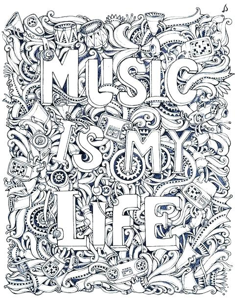 480x611 Music Coloring Pages Music Coloring Pages Also Music Coloring