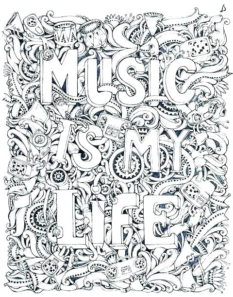 480x611 Music Coloring Sheets Free Printable Color