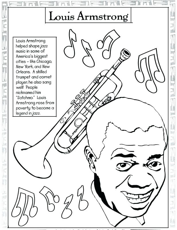 617x800 Music Coloring Sheets Music Coloring Pages Printable Black History