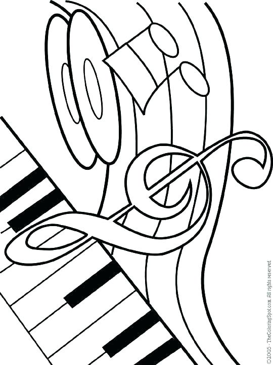 540x720 Music Coloring Pages Printable Music Coloring Pages For Kids Music