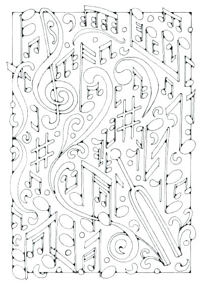 400x565 Musical Coloring Pages Musical Coloring Pages Free Music Coloring