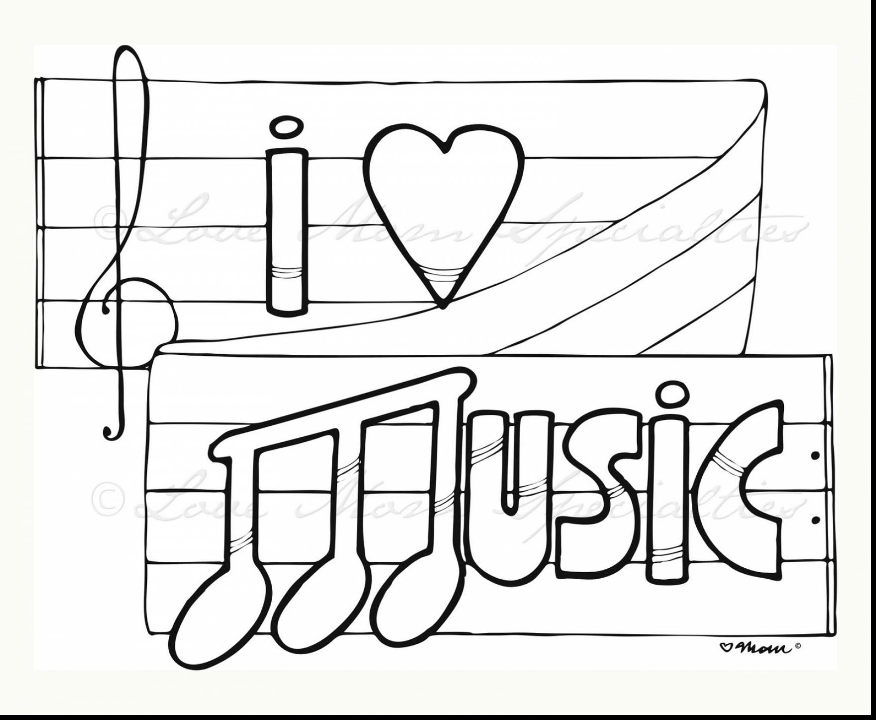 1760x1447 Coloring Book Brilliant Love Music Pages With And Free Printable