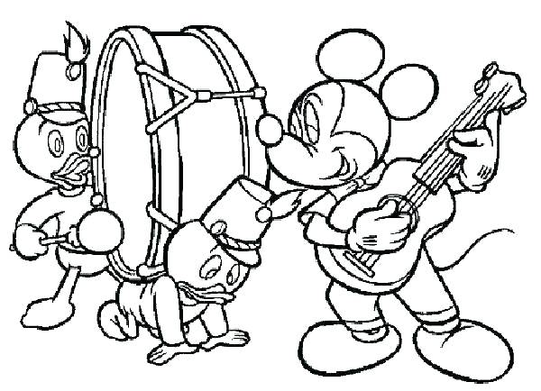 600x434 Free Music Coloring Pages Printable And Awesome Musical