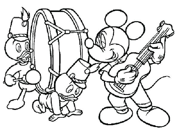 600x434 Music Coloring Pages Free Printable Music Notes Coloring Pages