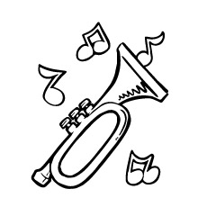 230x230 Top Free Printable Music Notes Coloring Pages Online