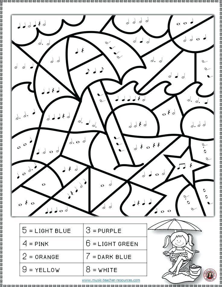 736x952 Coloring Pages Of Music Notes Music Worksheets Color