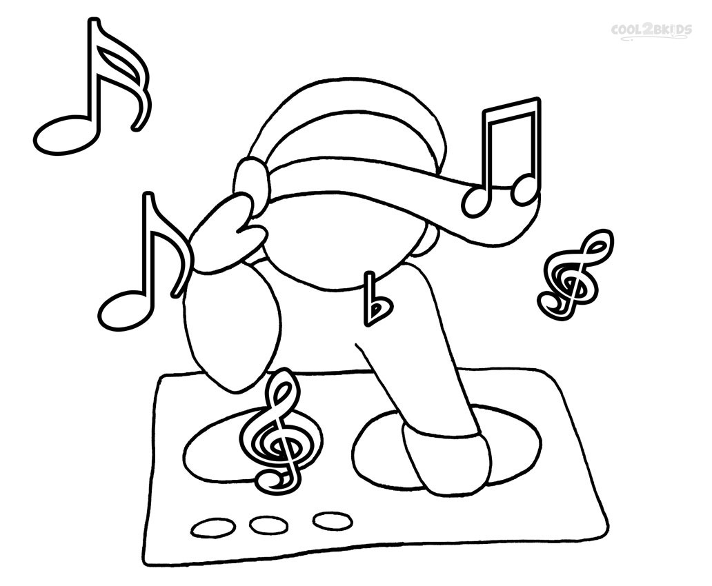 1032x850 Printable Music Note Coloring Pages For Kids