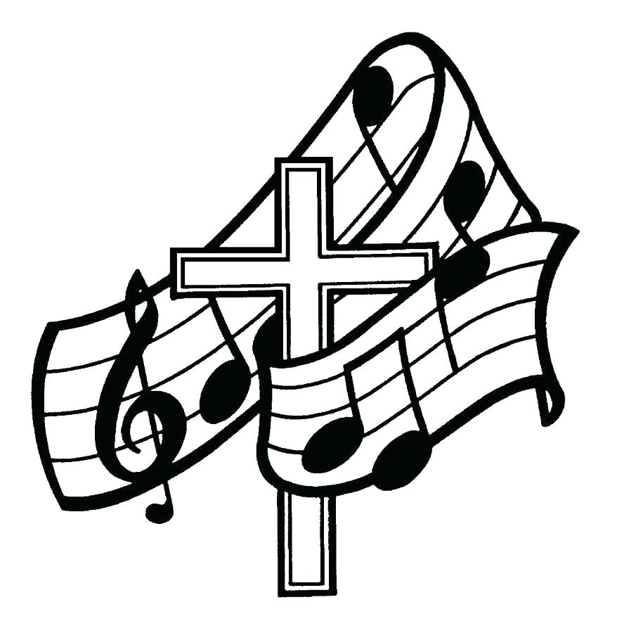 878x883 Coloring Pages Of Music Notes Music Note Coloring Page Best Music