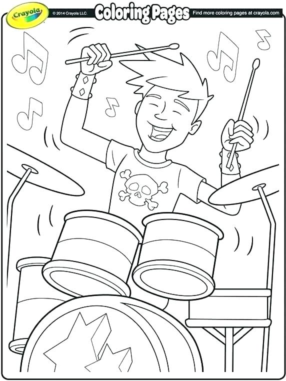 572x762 Musical Coloring Pages Musical Coloring Pages Music Coloring Pages