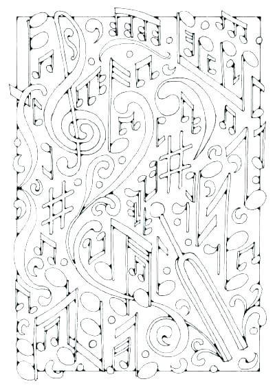 400x565 Free Music Coloring Pages Musical Coloring Pages Musical Coloring