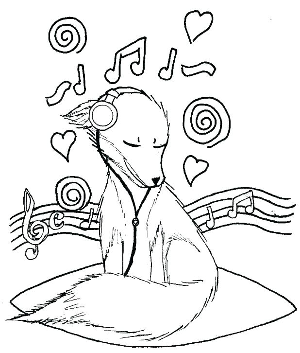 618x726 Musical Instruments Coloring Pages Printable Inspirational