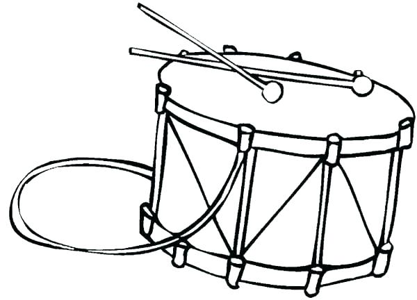 600x432 Musical Instruments Coloring Pages Printable Vanda