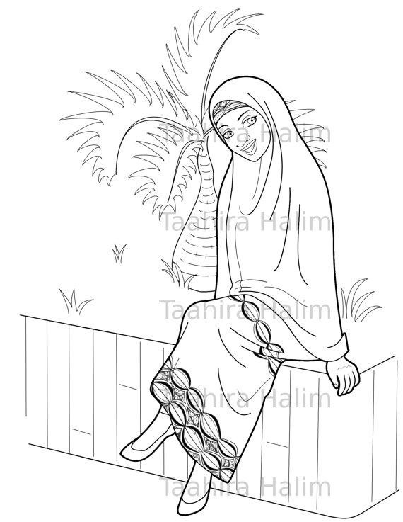 Muslim Coloring Pages At Getdrawings Free Download