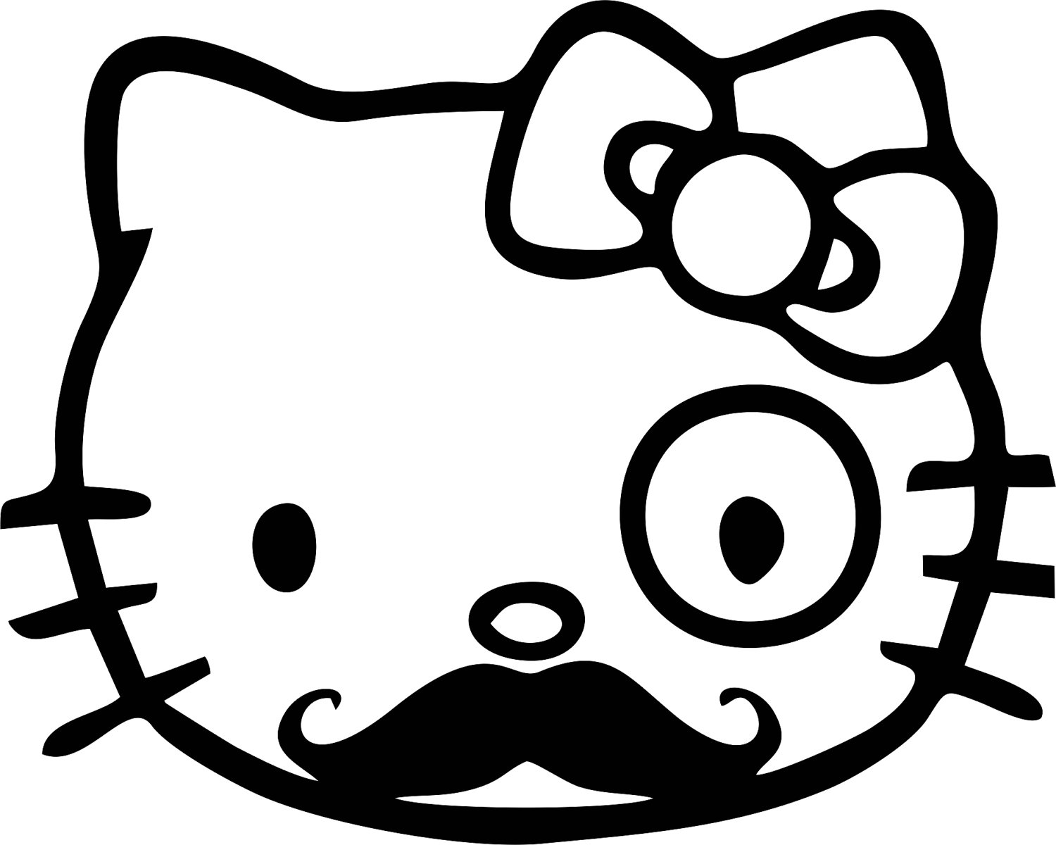 Mustache Coloring Pages at GetDrawings.com   Free for personal use ...